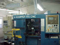 Koepfer 173 CNC Fully Automated Gear Hobber