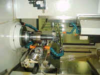 Koepfer 200 CNC Fully Automated Gear Hobber Close-Up