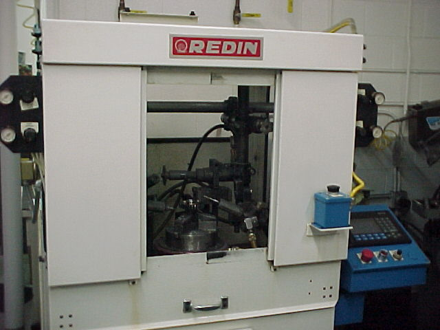 Redin Gear Deburring Machine